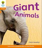 Oxford Reading Tree: Level 6: Floppy's Phonics Non-Fiction: Giant Animals af Alex Brychta, Monica Hughes, Roderick Hunt