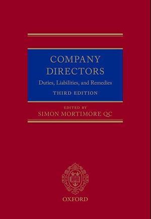 Bog, hardback Company Directors