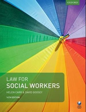 Bog, paperback Law for Social Workers af David Goosey