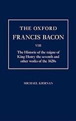The Oxford Francis Bacon VIII af Francis Bacon, Michael Kiernan