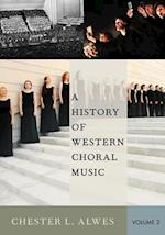 A History of Western Choral Music