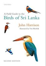 A Field Guide to the Birds of Sri Lanka af John Harrison, Tim Worfolk