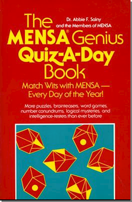 The Mensa Genius Quiz-A-Day Book