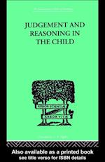 Judgement and Reasoning in the Child af Jean Piaget