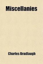 Miscellanies af Charles Bradlaugh