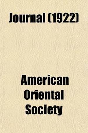 Journal (Volume 42) af American Oriental Society