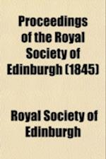 Proceedings of the Royal Society of Edinburgh (Volume 1) af Royal Society Of Edinburgh