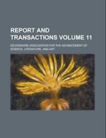 Report and Transactions Volume 11 af Devonshire Association, Devonshire Association for the, Devonshire Association For Science