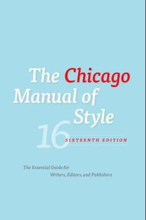The Chicago Manual of Style af University Of Chicago Press