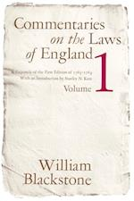 Commentaries on the Laws of England, Volume 1 af William Blackstone