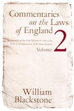Commentaries on the Laws of England, Volume 2 af William Blackstone