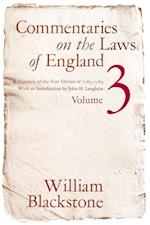 Commentaries on the Laws of England, Volume 3 af William Blackstone