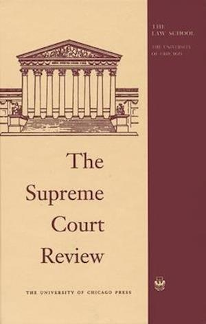 Bog, hardback Supreme Court Review 2016
