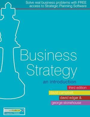 Business Strategy af George Stonehouse, David Campbell, David Edgar