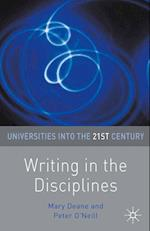 Writing in the Disciplines af Mary Deane, Peter O Neill