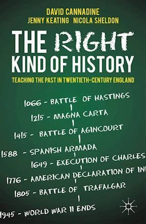 The Right Kind of History af Mr David Cannadine
