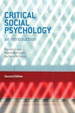 Critical Social Psychology af Brendan Gough