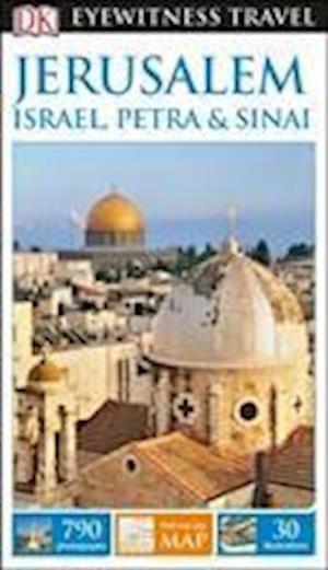 Bog, paperback DK Eyewitness Travel Guide Jerusalem, Israel, Petra & Sinai af DK Publishing