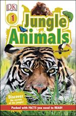 Jungle Animals (DK Reads Beginning to Read)