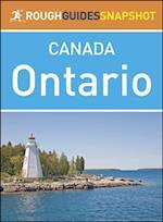 Rough Guide Snapshot Canada: Ontario