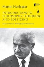 Introduction to Philosophy - Thinking and Poetizing (Studies in Continental Thought)