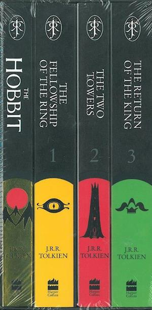 The Hobbit & The Lord of the Rings Boxed Set af J R R Tolkien