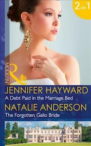 Bog, paperback A Debt Paid in the Marriage Bed af Jennifer Hayward