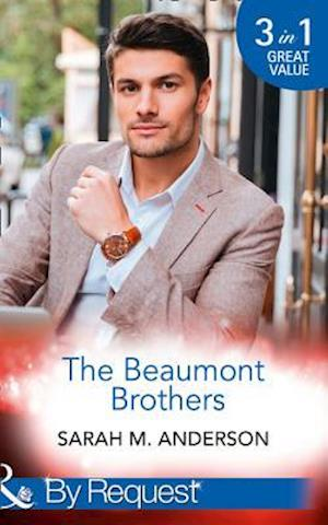 Bog, paperback The Beaumont Brothers: Not the Boss's Baby / Tempted by a Cowboy / A Beaumont Christmas Wedding (the Beaumont Heirs, Book 1) af Sarah M. Anderson