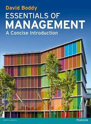 Essentials of Management af David Boddy