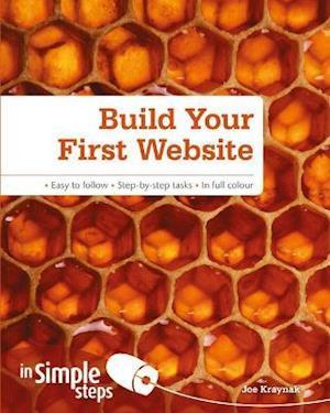Bog, paperback Build Your First Website in Simple Steps af Joe Kraynak