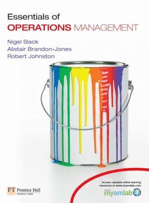 Essentials of Operations Management af Robert Johnston
