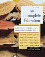 Incomplete Education af William Wilson
