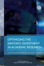 Optimizing the Nation's Investment in Academic Research