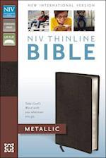 Thinline Bible-NIV-Metallic af Zondervan