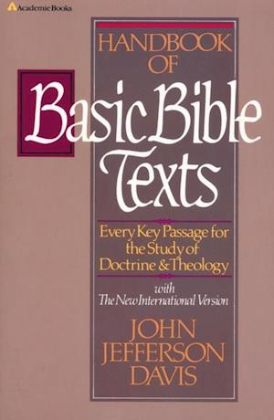 Handbook of Basic Bible Texts af John Jefferson Davis