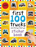 First 100 Stickers Trucks and Things That Go (First 100)