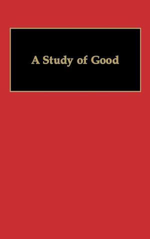 A Study of Good af Kitaro Nishida