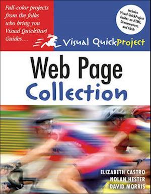 Web Page Visual Quickproject Guide Collection af Elizabeth Castro