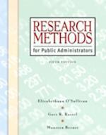 Research Methods for Public Administrators af Elizabethann O'Sullivan