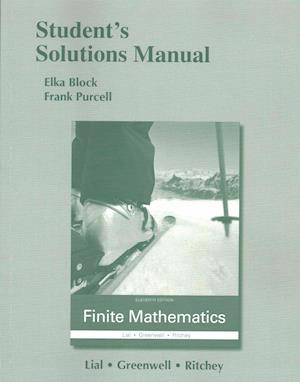 Student's Solutions Manual for Finite Mathematics af Margaret L. Lial