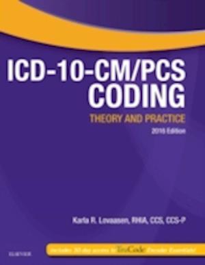 Bog, paperback ICD-10-CM/PCs Coding af Karla R. Lovaasen