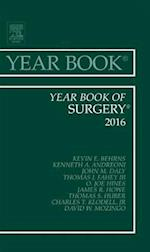 Year Book of Surgery 2016, (Year Books)