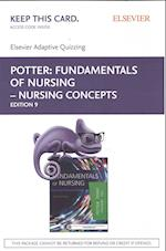 Fundamentals of Nursing - Nursing Concepts Elsevier Adaptive Quizzing Access Code