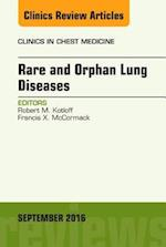 Rare and Orphan Lung Diseases, An Issue of Clinics in Chest Medicine, (The Clinics: Internal Medicine)