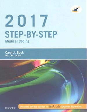 Bog, paperback Medical Coding Online for Step-by-step Medical Coding 2017 + Access Code af Carol J. Buck