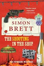 The Shooting in the Shop af Simon Brett