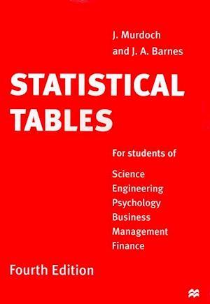 Statistical Tables af J A Barnes, John Murdoch
