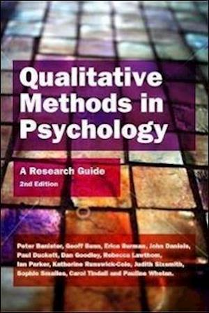 Qualitative Methods in Psychology af Katherine Runswick Cole, Rebecca Lawthom, Peter Banister
