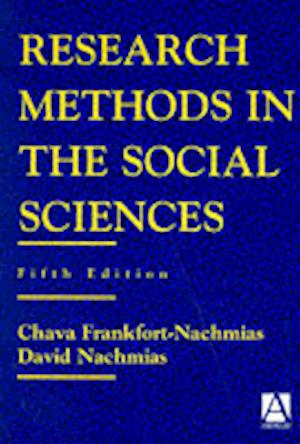 Research Methods in the Social Sciences af Chava Frankfort-Nachmias