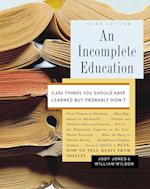 An Incomplete Education af Judy Jones, William Wilson